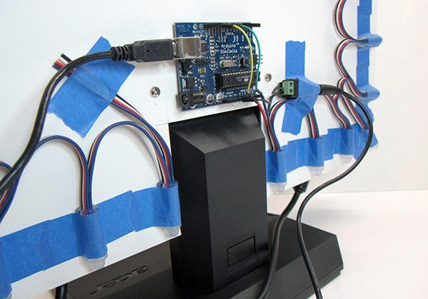 Эмбилайт своими руками arduino