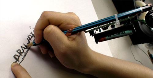 Рисующий диод - рисуя извлекаем звуки