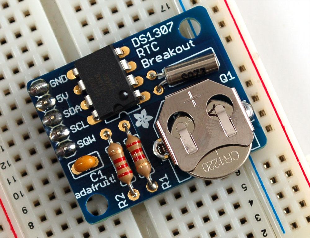 DS1307 RTC tutorial
