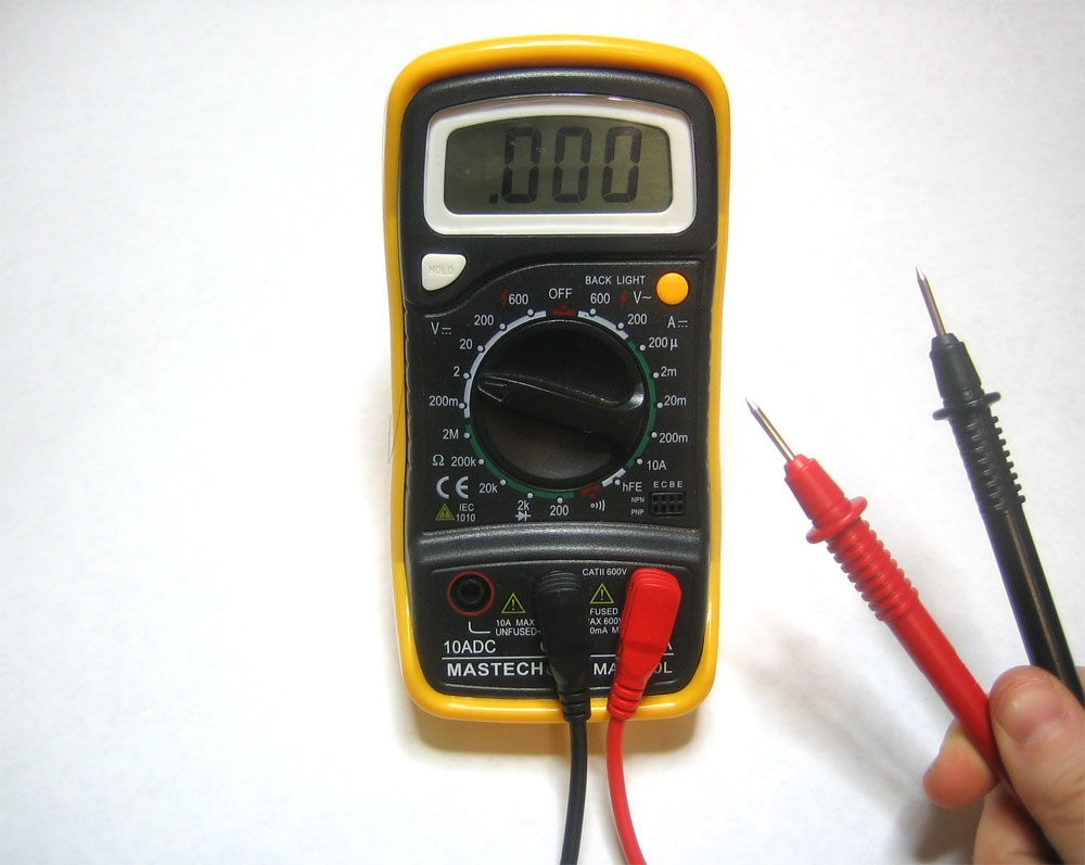 Command Center  Multimeter Current Voltage Resistance