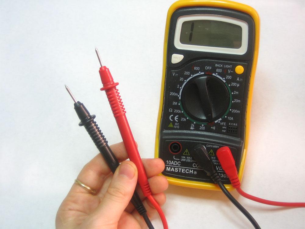 elektrische tijds meter