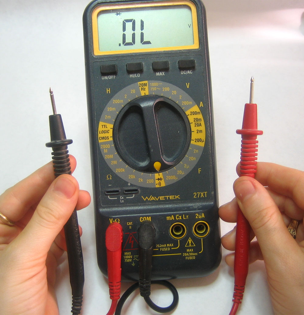 Multimeter Tutorial - Learning about continuity
