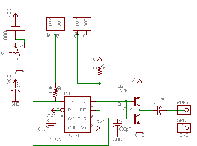 The Heart of this project is a simple Oscillator which is made by very familiar NEC555 which is in fact replaced by...