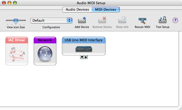 MIDIsense software