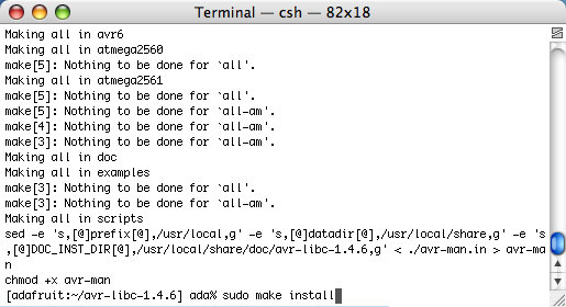 AVR Tutorial - Software setup for Mac OS X