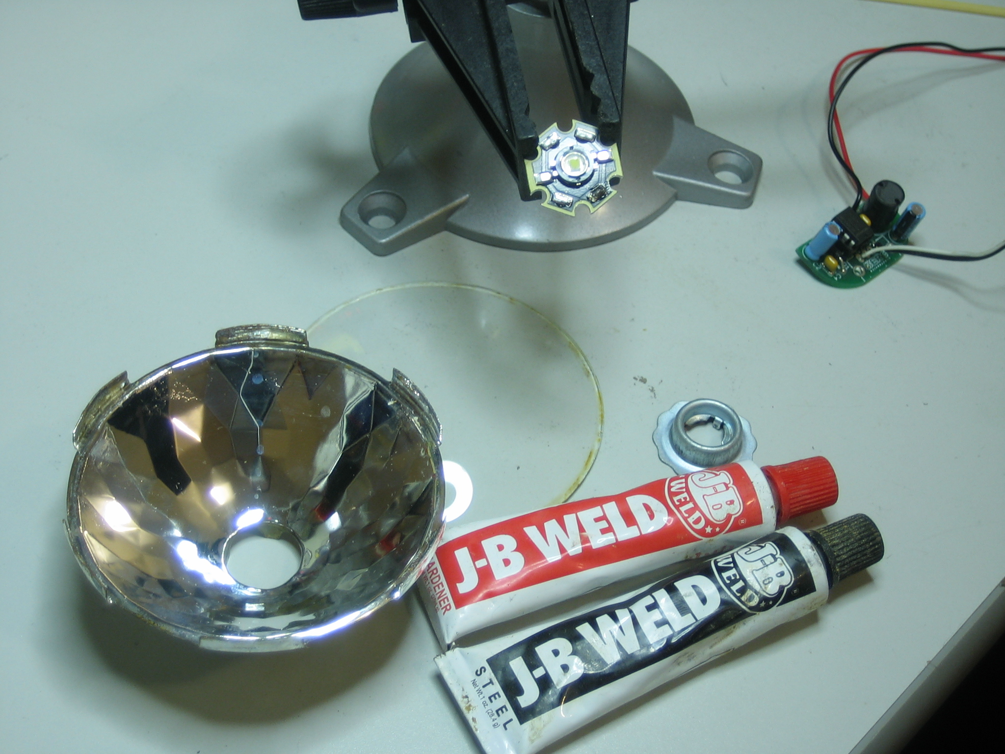 Convert your vintage light to LED power