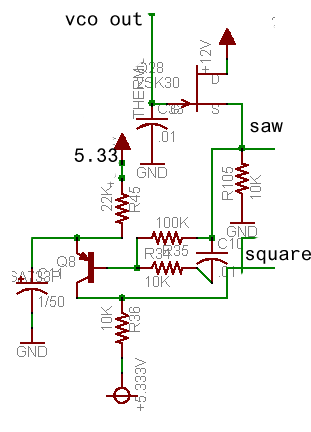 x0x voltagecontrolledoscillator a light bulb circuit diagram with labeled parts of a closed with #1
